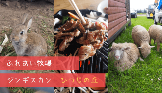 [ふれあい牧場]富良野ジンギスカンひつじの丘レポ!最高の店だった!